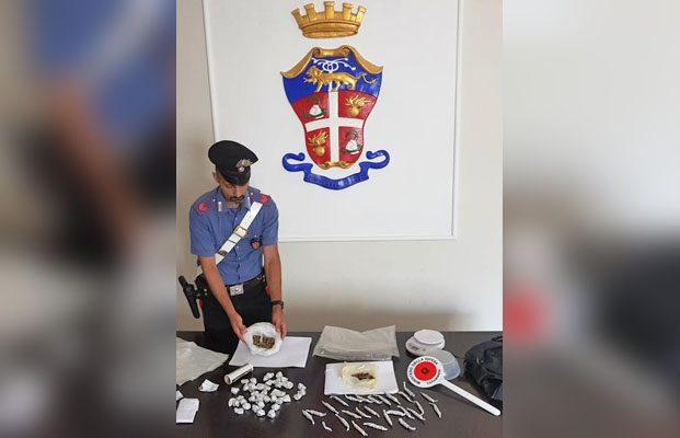 Paternò, arrestato 28enne per spaccio