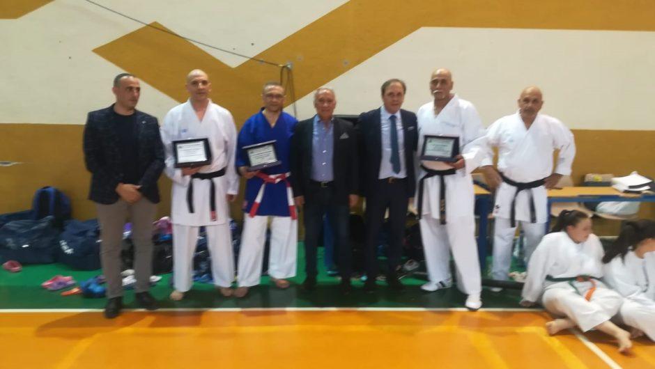 "Paternò. Riconoscimenti al ""Team Karate Borzì"""