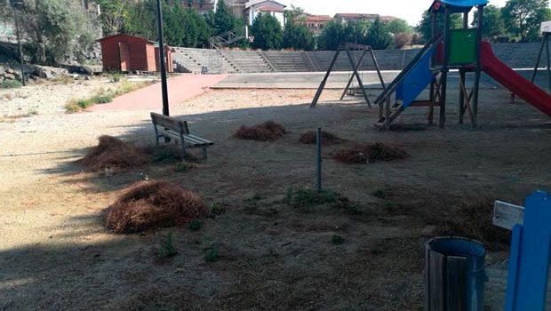 Belpasso, lavori di riqualificazione al Parco urbano