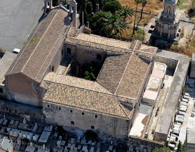 """Paternò. Il complesso architettonico dei """"Cappuccini"""" sulla collina storica"""