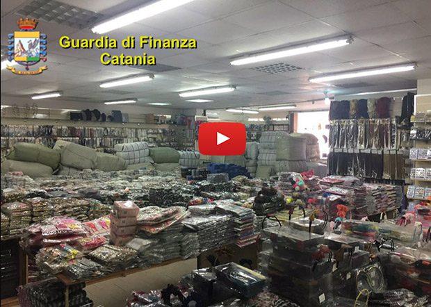 Misterbianco, Guardia di Finanza sequestra articoli contraffatti e non sicuri