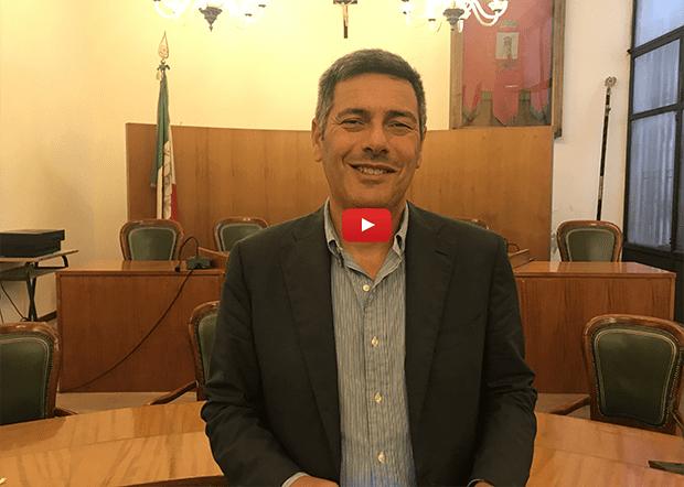 Santa Maria Di Licodia. L'europarlamentare Giovanni La Via in visita al comune