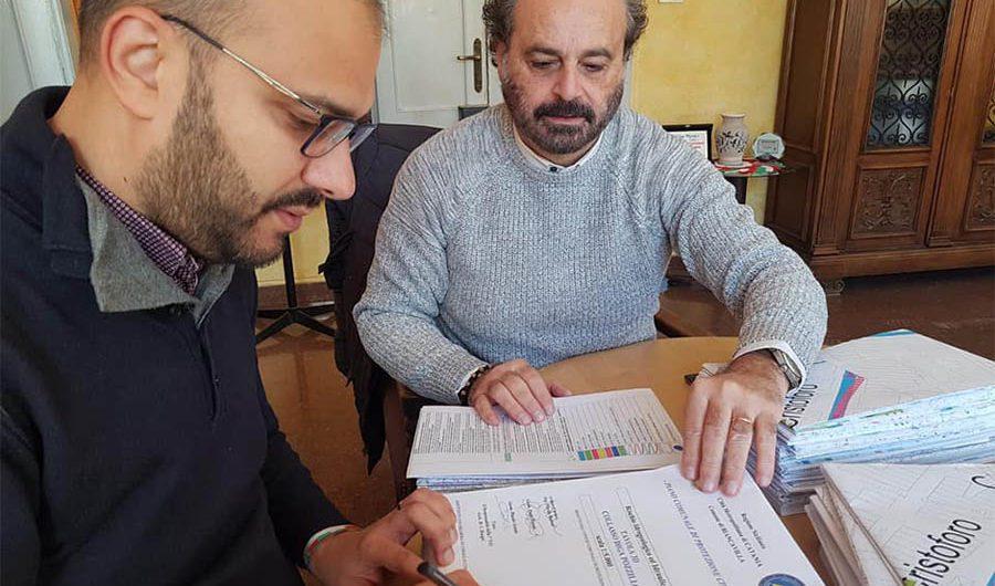 Biancavilla. Il sindaco firma il nuovo piano di Protezione Civile