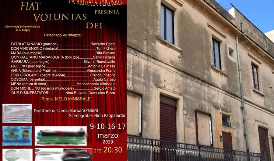 """Santa Maria di Licodia. Il ritorno del teatro al """"San Giuseppe"""""""