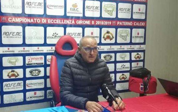 Calcio, Paternò. Rigettate le dimissioni di mister Andrea Pensabene