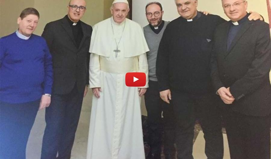 Roma. 5 Sacerdoti etnei celebrano con papa Francesco