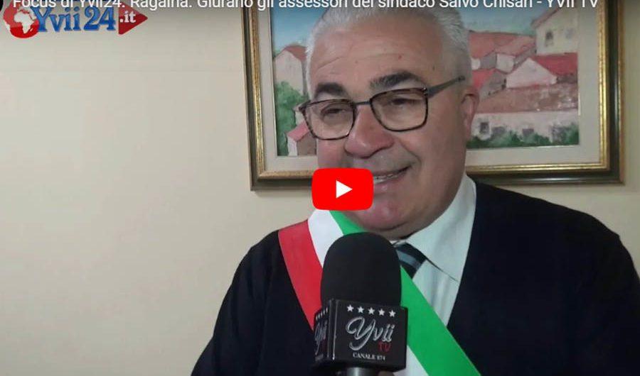 Ragalna, giurano gli assessori del sindaco Salvo Chisari