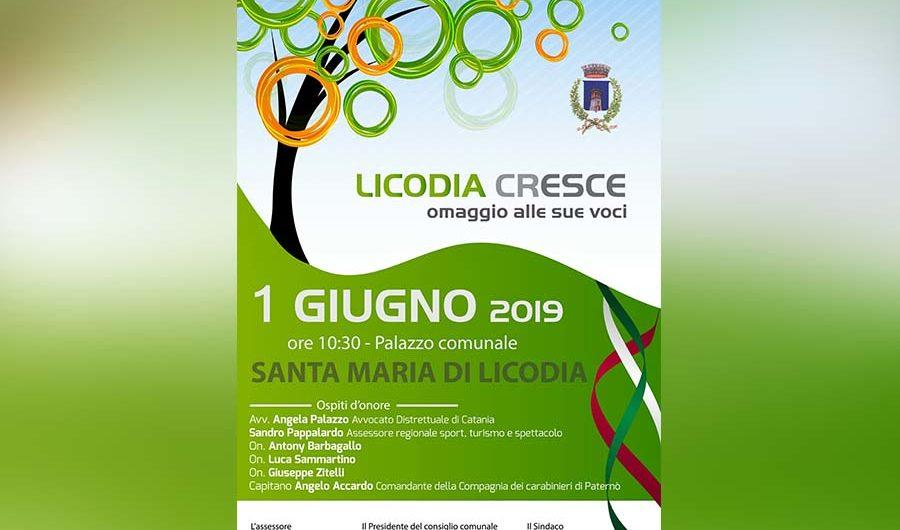"""Santa Maria di Licodia. Domani """"Licodia Cresce, omaggio alle sue voci"""""""