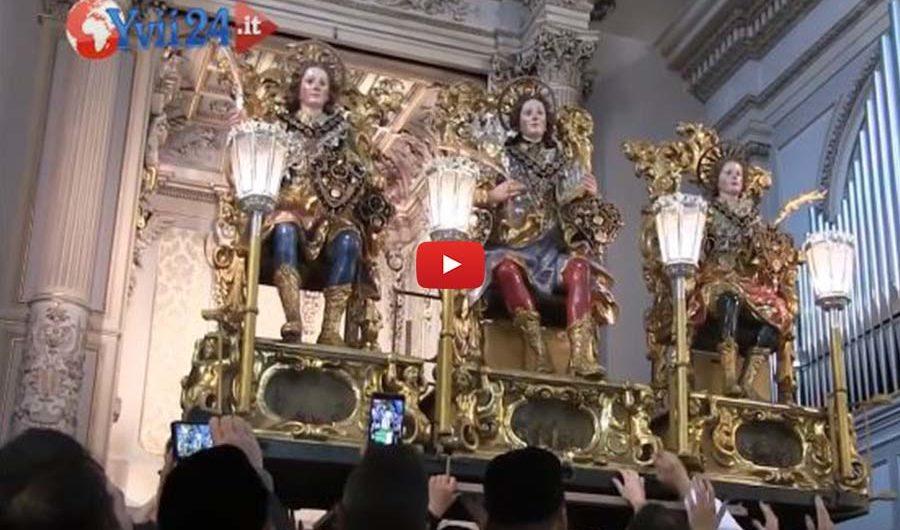 """Fede. La festa di sant'Alfio e il lungo """"viaggio"""" dei devoti"""