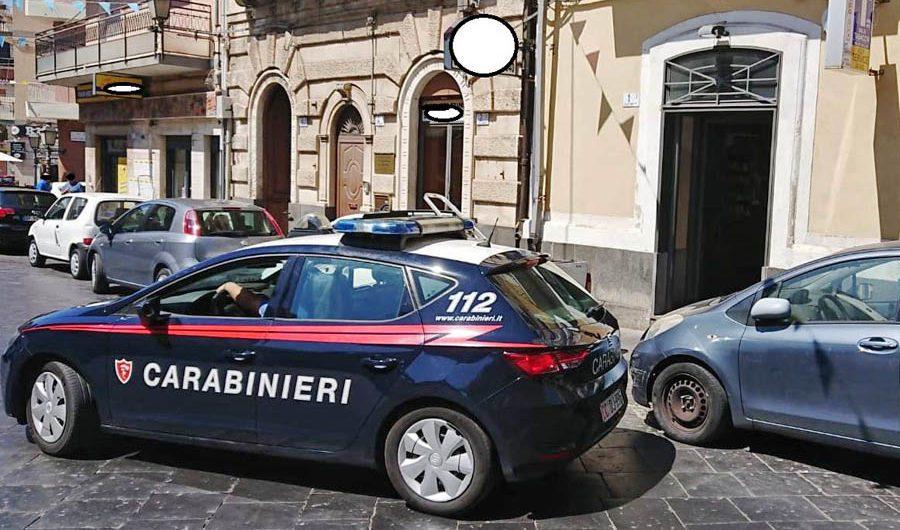 "Motta Sant'Anastasia. Sventata ""spaccata"" in piazza Umberto"