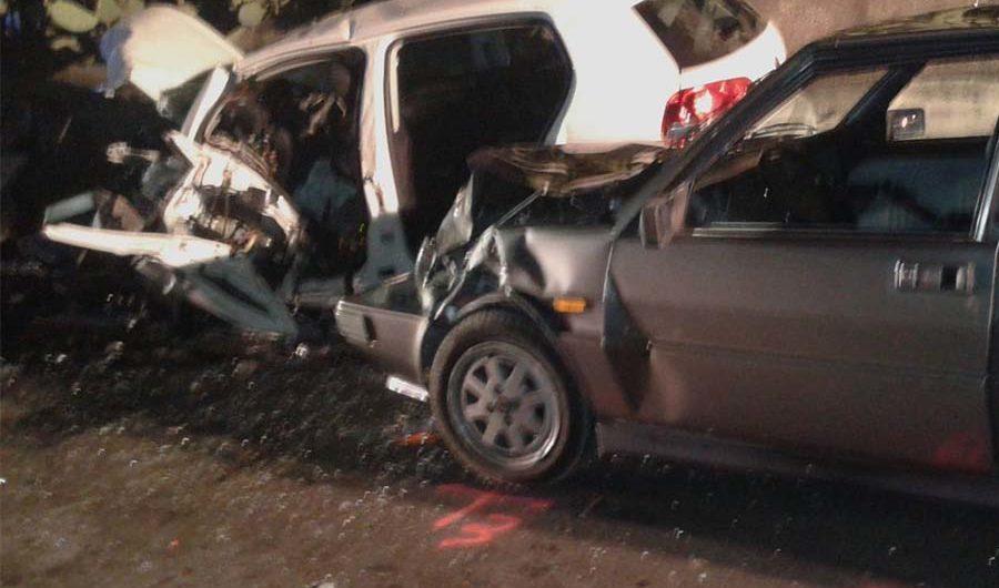 Santa Maria di Licodia. Incidente nella notte sulla statale 284: 6 feriti