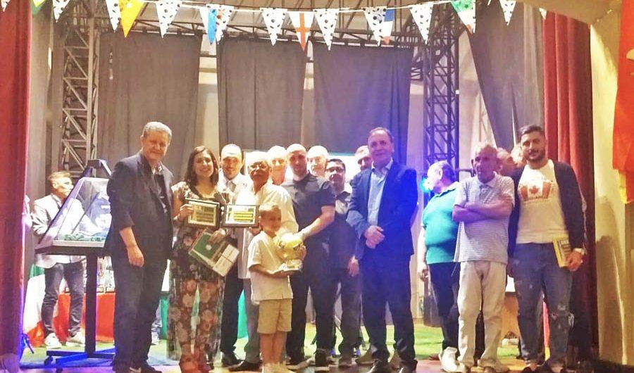 """Paternò. """"Awards of Football Stars"""" premiati gli """"assi"""" del calcio siciliano"""