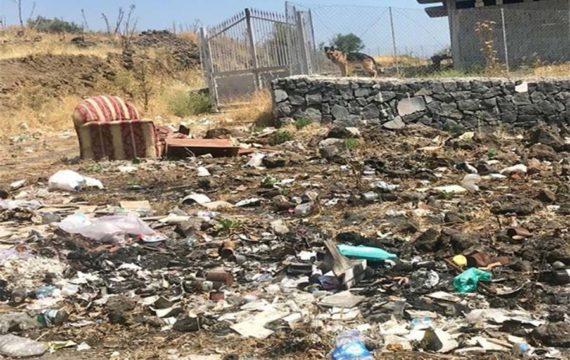 Biancavilla. Abbandono selvaggio di rifiuti in via Turchia