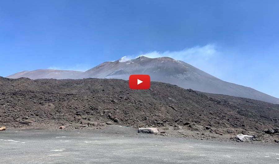 Etna. Special eruzione 27/28 luglio 2019