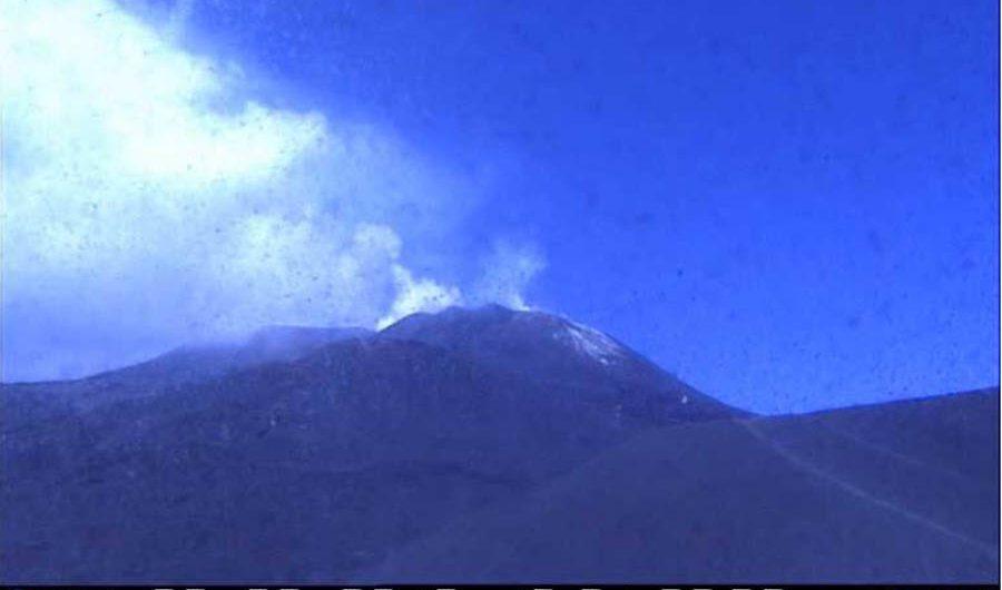 Etna. Esplosione dal Nord-Est