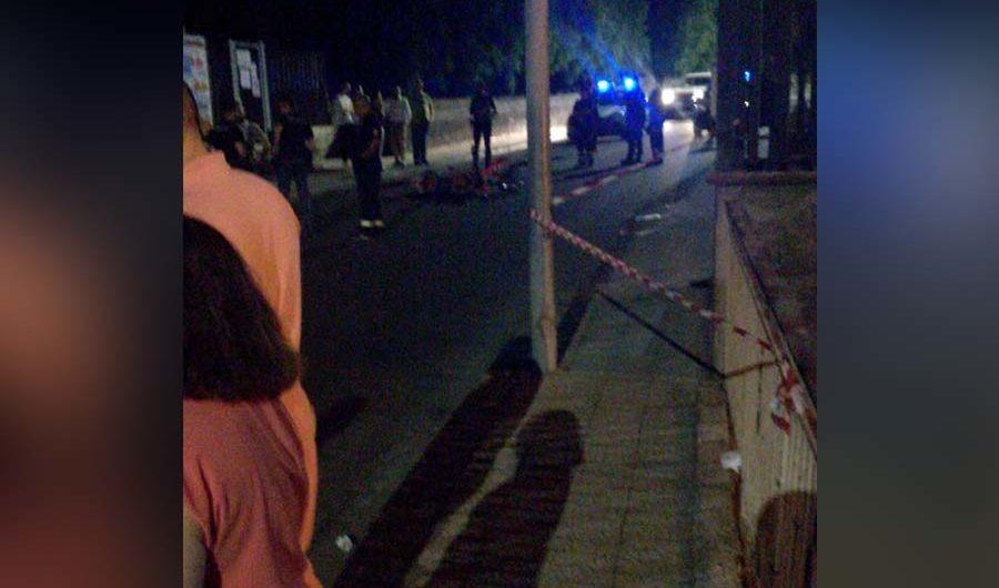 Biancavilla. Grave incidente autonomo in viale Cristoforo Colombo