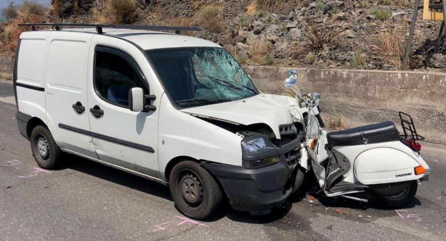 Paternò. Incidente Chisari: autista Doblò indagato per omicidio stradale