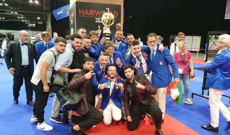 Parigi. La nazionale italiana Barber conquista il titolo mondiale