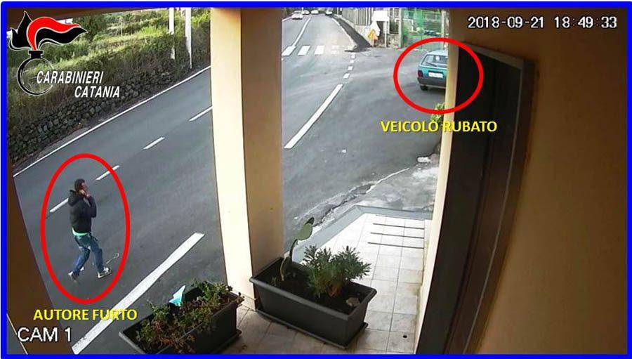 Belpasso. Arrestato ladro d'auto per due furti avvenuti a Biancavilla