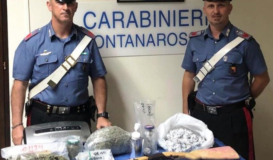 Catania. Sequestro di armi e droga: due gli arrestati  tra cui un paternese