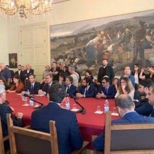 Catania. Tavolo sulla Metropolitana e MetroCircumetnea alla presenza del viceministro Cancellieri