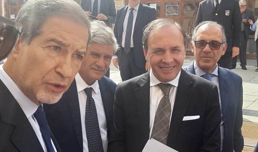 Il sindaco di Paternò Nino Naso nell'Anci Sicilia