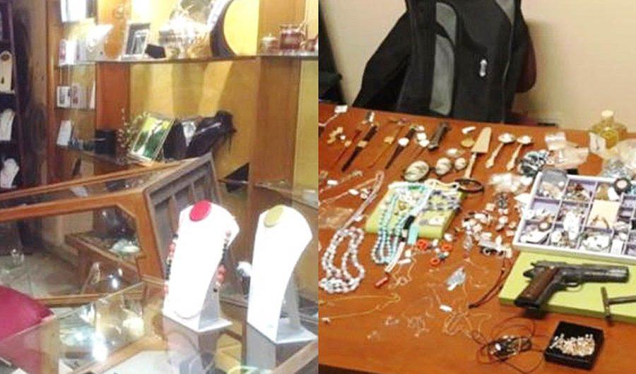 Mascalucia. Rapina in gioielleria: i Carabinieri intervengono e acciuffano i malviventi