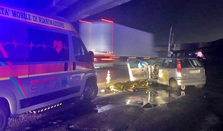 Piano Tavola: incidente mortale sulla statale 121