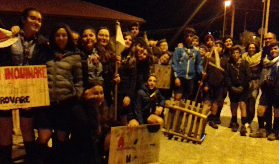 """Santa Maria di Licodia. Gli scout posizionano i cestini porta rifiuti nella """"Panoramica"""""""