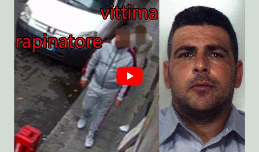 Catania. Sequestra e rapina anziana: arrestato 36enne