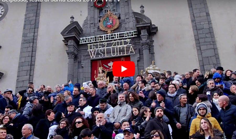 Oggi è santa Lucia: Belpasso in festa per la patrona (VIDEO)