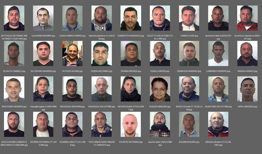 Mascalucia, blitz antimafia contro clan Santapaola-Ercolano: 35 arresti