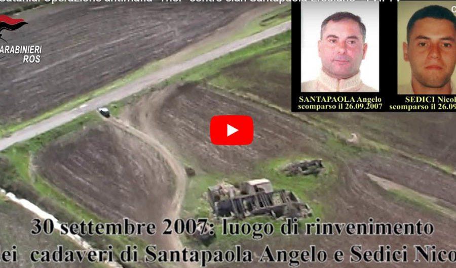"""Catania. Mafia, operazione """"Thor"""" contro Santapaola-Ercolano: luce su 23 omicidi (VIDEO E FOTO)"""