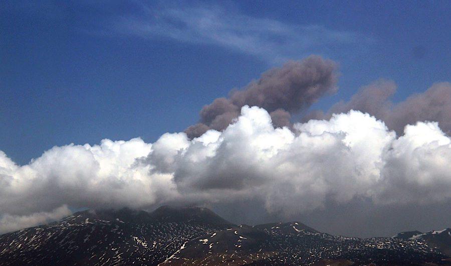 Etna. Eruzione dal Nuovo Sud-Est