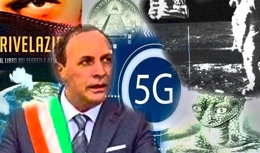 Paternò. Il sindaco Naso diventa complottista e vieta la sperimentazione 5G