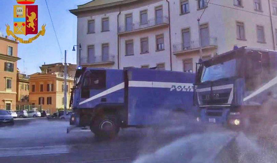 Adrano. Domani sanificazione delle strade grazie alla Polizia di Stato