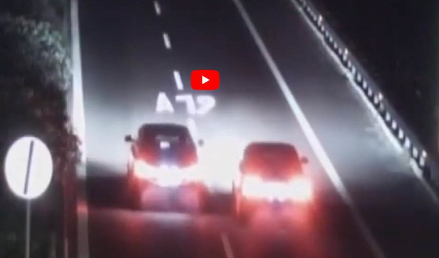 "Corsa clandestina sull'A19: denunciati i ""piloti"", sequestrate le auto (VIDEO)"