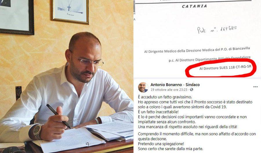 Biancavilla. Sì, il sindaco Bonanno ha proprio diffuso una fake-news