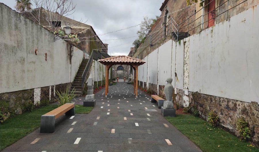 """Belpasso. Inaugurata la nuova """"Via dell'Arte"""""""