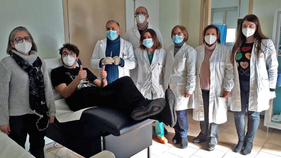 Iniziata oggi la vaccinazione anti-Covid degli operatori sanitari dell'Asp 3 Catania
