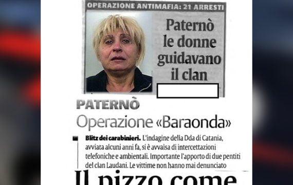 """Paternò. Mafia, arrestata la moglie del reggente del clan """"Rapisarda"""""""