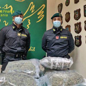 """Droga, arrestato 43enne mottese con 7 chili di """"erba"""""""