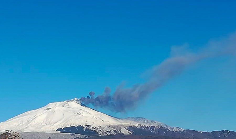 Etna. In mattinata nuova fase di attività