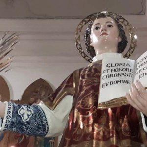 Paternò, restaurato il simulacro del compatrono San Vincenzo martire